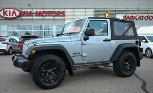 2014 Jeep Wrangler Sport ACCIDENT FREE - 4X4 - SOFT TOP - OFF...