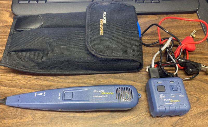 Fluke Networks Pro3000 Probe w/ Pro3000 Toner