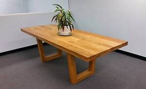 Handmade European Oak Dining table (solid timber, removable legs) Rockdale Rockdale Area Preview