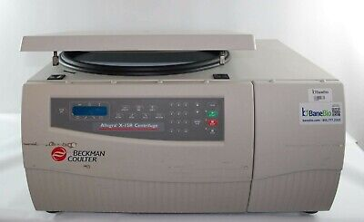 Beckman Coulter Refrigerated Centrifuge Allegra X-15r