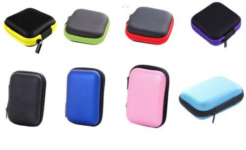 Earbud Case Portable Hard Carrying Earphone Holder Waterproof Storage Bag Holder