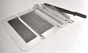 Hebel-/ Rollenschneider Schneidemaschine Papierschneider Fotoschneidegerät /NEU!