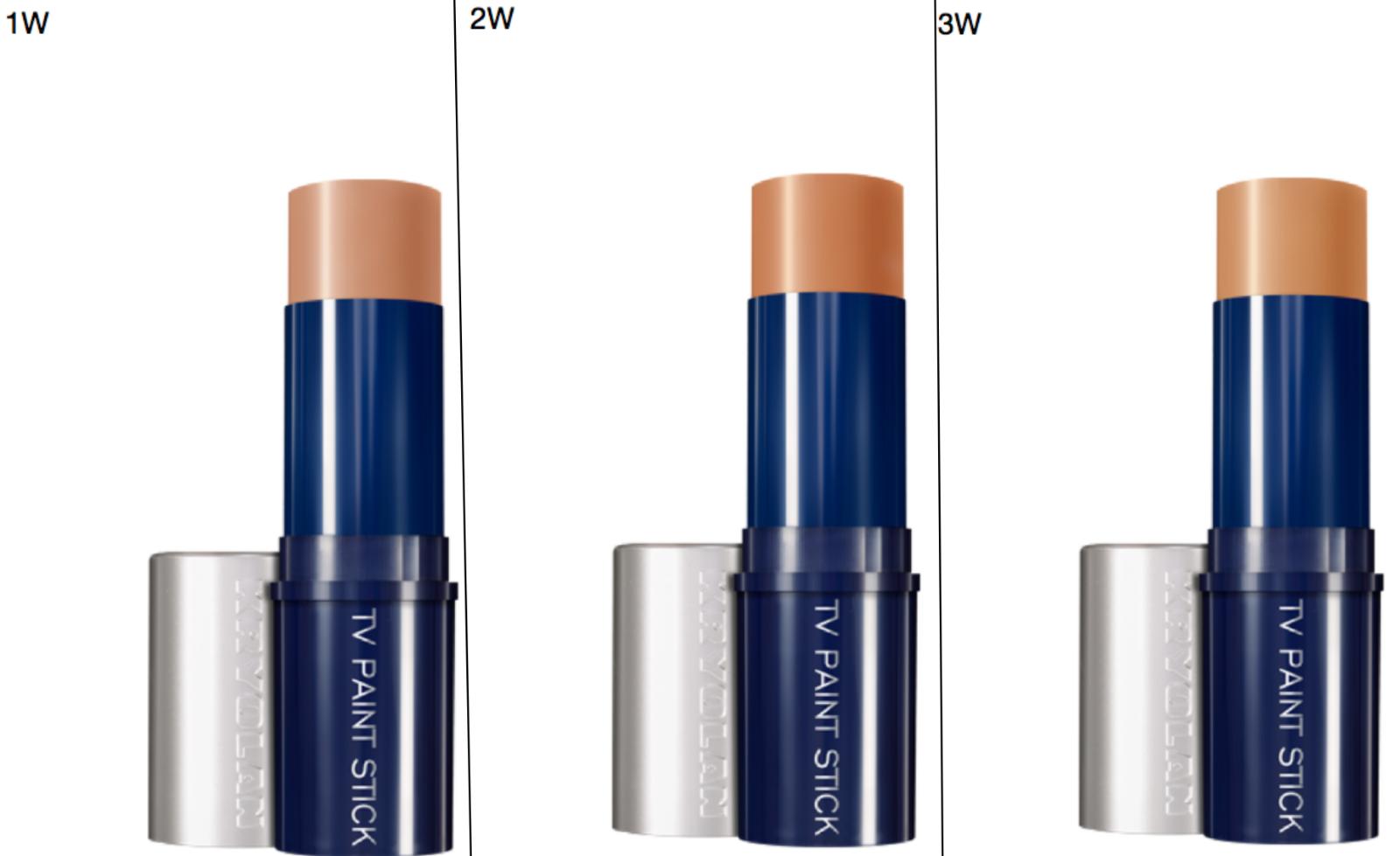 Kryolan 5047 TV Paint Stick Cream Face Makeup Film Stage The