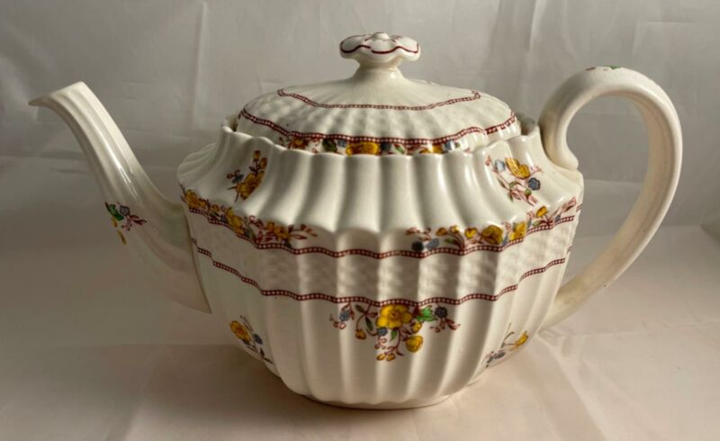 Spode BUTTERCUP Teapot with Lid Made in England Old Marks!