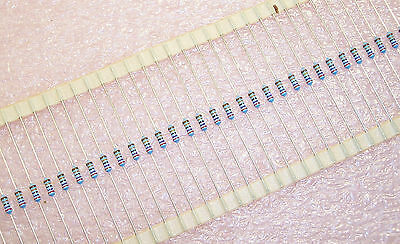 Qty 100 270k Ohm 0.6w 1 Precision Thin Film Resistors Mrs25-270k-1 Vishay