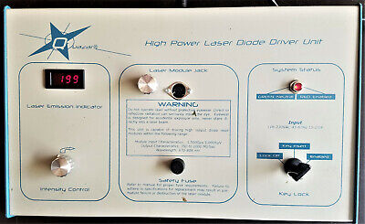 High-power Laser Diode Controller Tuneable Driver Instrument Master Control
