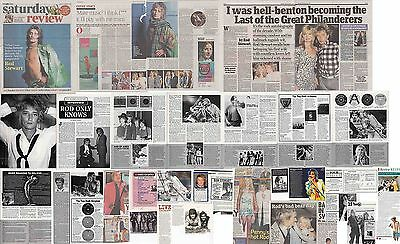 ROD STEWART : CUTTINGS COLLECTION -interviews etc-