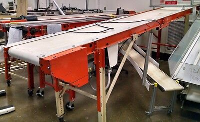 14 Emi Rm-18-14-20 Portable Belt Conveyor