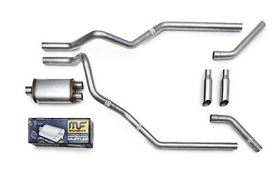 Magnaflow All Stainless Mandrel Dual Truck Exhaust Kit for 09 18 Chevy Silverado