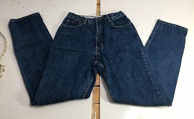 Rare Vintage COCA COLA Jeans High Waist Dark Wash Denim Woman's Size 10
