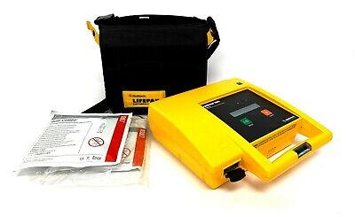 Medtronic Physio-control Lifepak 500 Biphasic Ecg Emt Defib W Pads And Battery