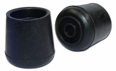 Qty 10 1 1.00 Rubber Feet For Warehouse Ladders Stools Cane Crutches.