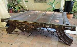 Indian Ox Cart Coffee Table North Perth Vincent Area Preview