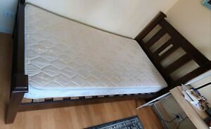 King Single Bed (with free mattress) excellent condition
