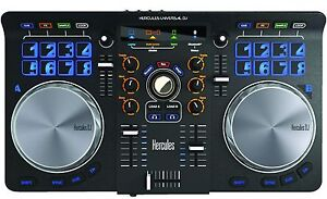 Hercules Universal DJ Controller Mixer for PC Mac Android iOS