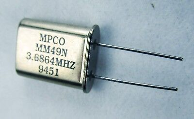 Crystal Oscillator Mpco Mm49n 3.6864mhz New X1
