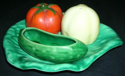 VINTAGE CRUET SET - VEGETABLES Nowra Nowra-Bomaderry Preview