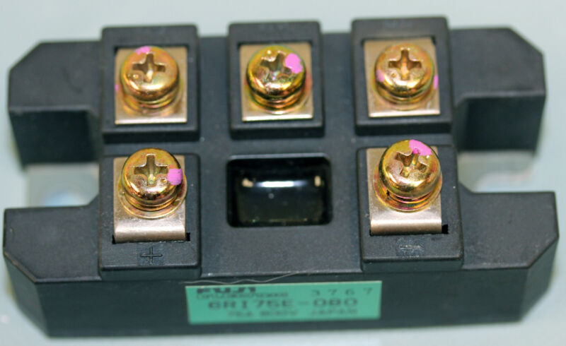 Fuji Electric model 6RI75E-080, Three phase bridge rectifier