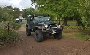 2005 Jeep Wrangler Convertible Ashtonfield Maitland Area Preview