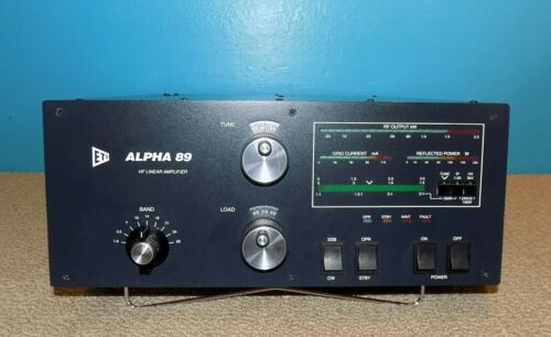 ETO Alpha 89 Legal Limit HF Linear Amplifier Full Output Very Good Condition