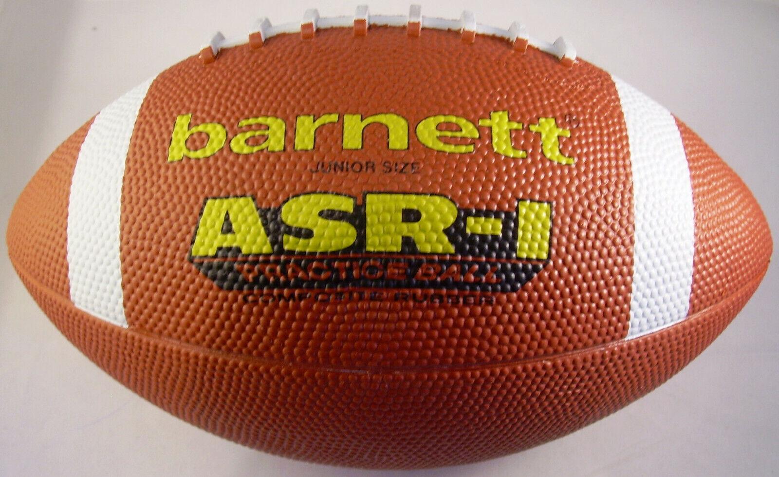 Barnett American Football Trainingsball Size Junior ASR-1, braun