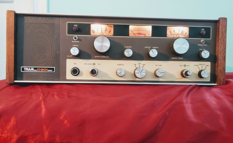 Tram D201 Citizens Band Transceiver 23 Channel CB Base Station Tube Radio