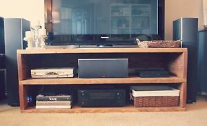 New solid wood Entertainment unit Selling cheap because Unwanted Redcliffe Belmont Area Preview