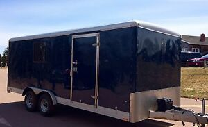 2009 Wells Cargo enclosed trailer 20 X 8