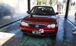 Toyota corolla 2001 Parramatta Parramatta Area Preview