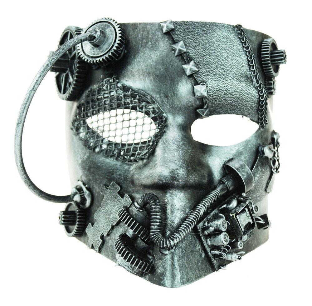 Men's Steampunk Masks Costume Burning Man Mask Accessory