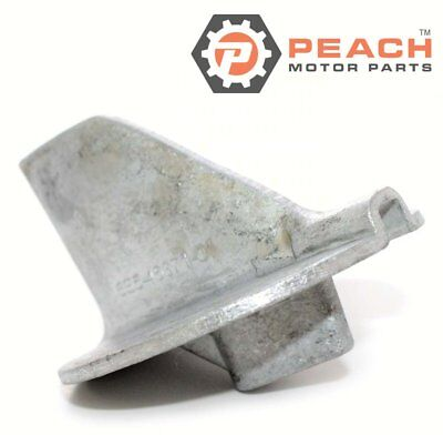 Peach Motor Parts PM-6E5-45371-01-00 Anode, Trim Tab Aluminum; Replaces Yamaha®