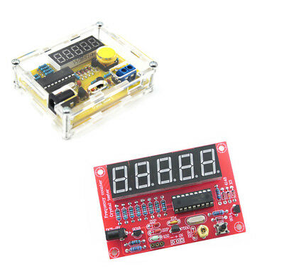 1hz-50mhz Crystal Tester Frequency Counter Meter Case Diy Kits Bbc
