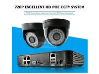 CCTV set with 2 cameras and HDD