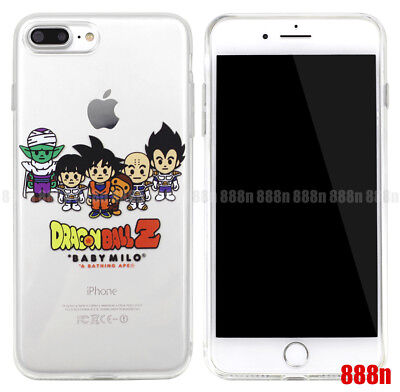 A Bathing Ape BAPE Baby Milo Dragon Ball Z Case For Apple iPhone XS Max XR X 8 7