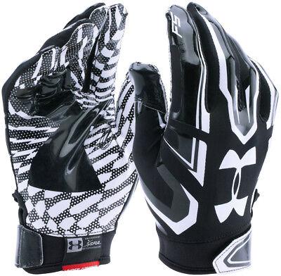 New Under Armour Youth Boys Ua F5 Heatgear Football Gloves