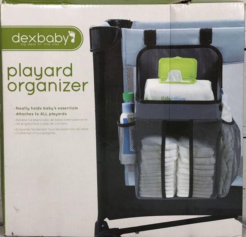 Dexbaby Playard Diaper Caddy and Nursery Organizer for Baby