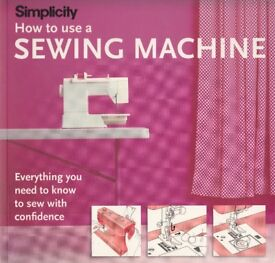 SIMPLICITY HOW TO USE A SEWING MACHINE BOOK