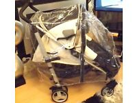 PUSHCHAIR ,PRAM UNIVERSAL RAINCOVER ,HEAVY DUTY WITH ZIP AND AIR VENTS