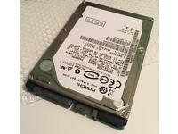 Sata 250gb formatted laptop hard drive £10