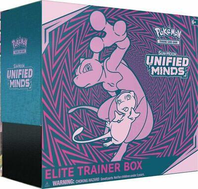 Pokemon Sun & Moon Unified Minds Elite Trainer Box