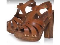 Kurt Geiger Carvela Kimberly Sandles size 5 never worn