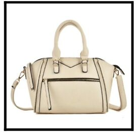 HANDBAG. CREAM. NEW WITH TAGS, DUSTBAG & PACKAGING