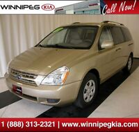 2010 Kia Sedona LX Convenience *Local Trade w/ Only 1 Owner!*
