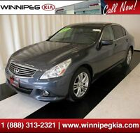 2010 Infiniti G37X *Leather Interior & Rear View Cam.!*