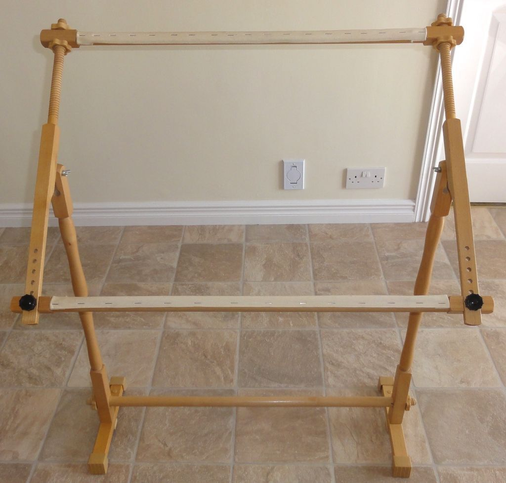 Adjustable Wooden Tapestry / Embroidery Frame U0026 Stand | In Kemnay Aberdeenshire | Gumtree