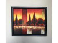 Wall Art abstract framed picture