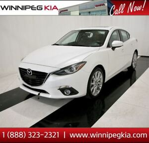 2015 Mazda MAZDA3 GT *Navi., Heated Seats, Low KM & More!*