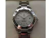 Tag Heuer Aquaracer Ladies Watch White Mother of Pearl WAY1412 **Buy Online**