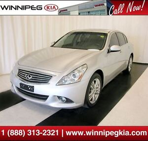 2011 Infiniti G37X *Loaded w/ Leather, Sunroof & More!*