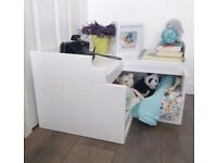 Corner Toy Box / Nursery kids room storage - BRAND NEW RRP155